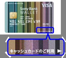 カード券面の一例